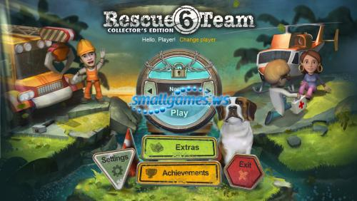 Rescue Team 6. Collectors Edition