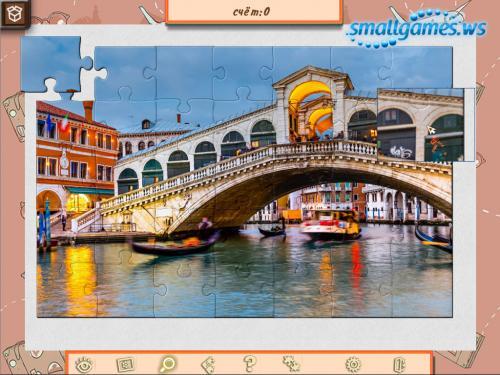 1001 Пазл Вокруг Света: Европа
