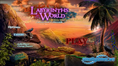 Labyrinths of the World 5: Secrets of Easter Island Collectors Edition