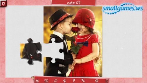 Праздничный пазл: День святого Валентина 4