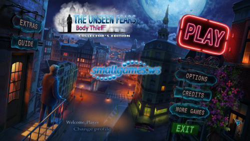 The Unseen Fears: Body Thief Collectors Edition
