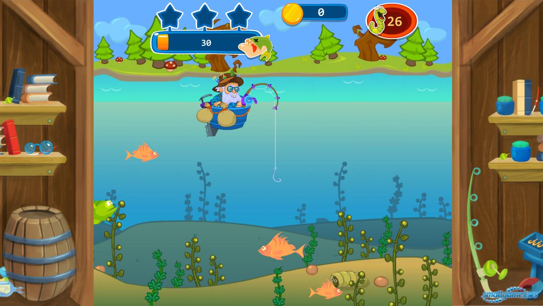 догги рыба из игры что на картинке зеленая