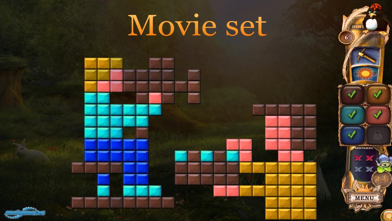 Fantasy Mosaics 21: On the Movie Set - скачать игру бесплатно