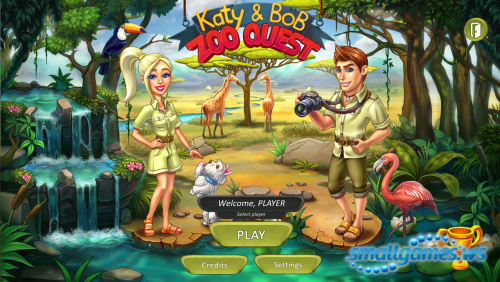 Katy and Bob: Zoo Quest
