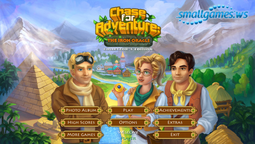 Chase for Adventure: The Iron Oracle Collectors Edition