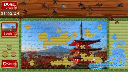 Beautiful Japanese Scenery: Animated Jigsaws
