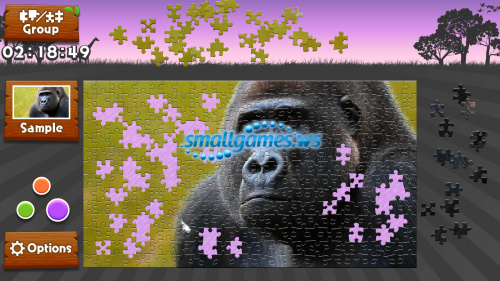 Wild Animals: Animated Jigsaws