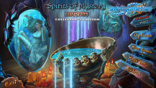 Spirits of Mystery 8: Illusions Collectors Edition