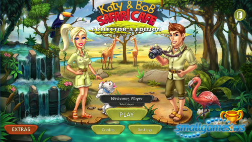 Katy and Bob 2: Safari Cafe Collectors Edition