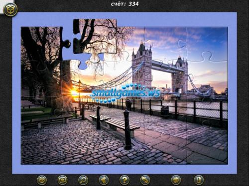 1001 Пазл Вокруг Света: Лондон