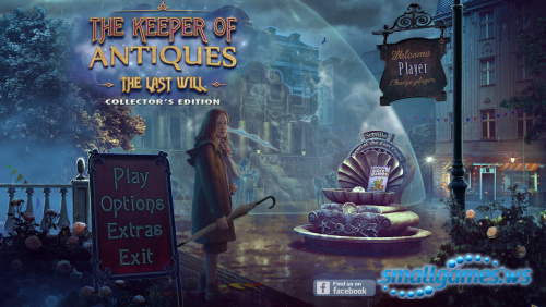 The Keeper of Antiques 3: The Last Will Collectors Edition