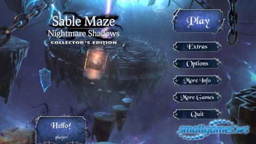 Sable Maze 7: Nightmare Shadows Collectors Edition