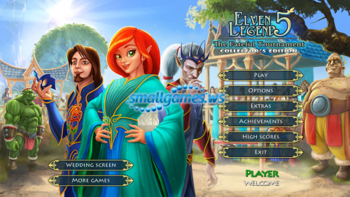Elven Legend 5: The Fateful Tournament Collectors Edition