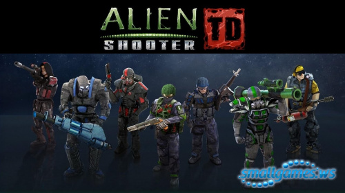 Alien Shooter TD (Русская версия)