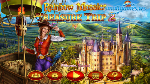 Rainbow Mosaics 7: Treasure Trip 2