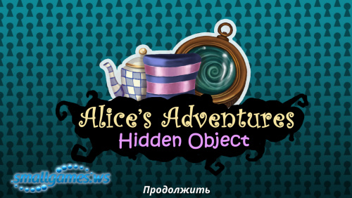 Alices Adventures. Hidden Object