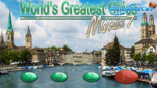 Worlds Greatest Cities Mosaics 7