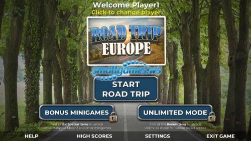 Road Trip 2: Europe