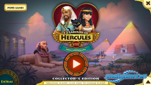12 Labours of Hercules VIII. How i Met Megara Collectors Edition