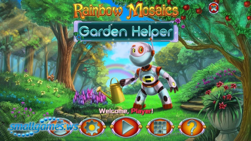 Rainbow Mosaics 9: Garden Helper