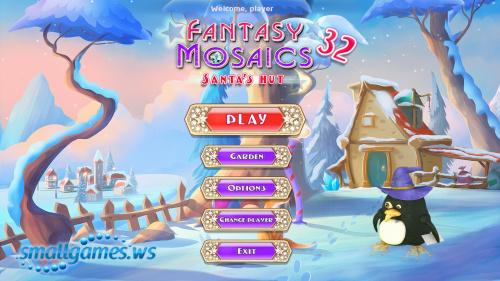 Fantasy Mosaics 32: Santas Hut