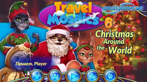 Travel Mosaics 6: Christmas Around the World (русская версия)