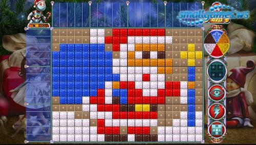 Rainbow Mosaics 10: Christmas Helper