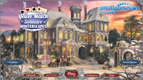 Jewel Match: Solitaire Winterscapes