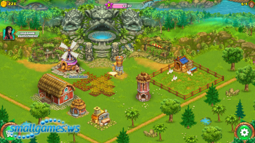 Farm Tribe: Dragon Island (Русская версия)