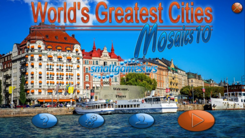 Worlds Greatest Cities Mosaics 10