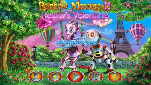Rainbow Mosaics 11: Helpers Valentine