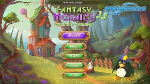 Fantasy Mosaics 33: Inventor's Workshop