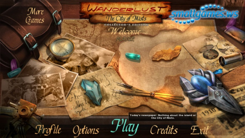 Wanderlust 2: The City of Mists Collectors Edition