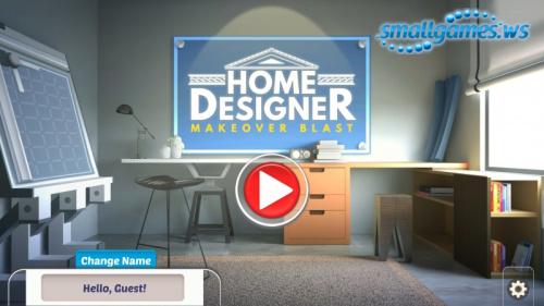 Home Designer 3: Makeover Blast