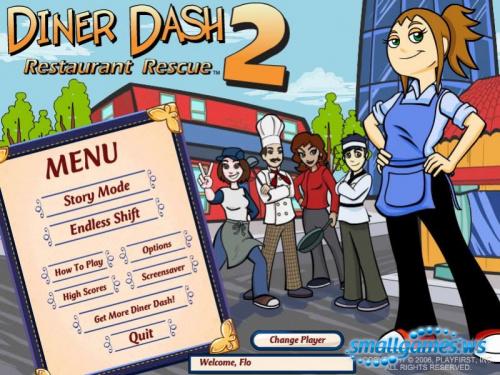 Diner Dash 1,2