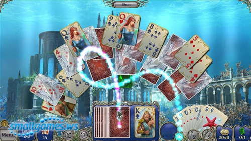 Jewel Match: Atlantis Solitaire Collector's Edition