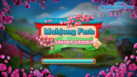 Mahjong Fest. Sakura Garden