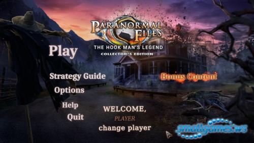 Paranormal Files 4: Hook Mans Legend Collectors Edition