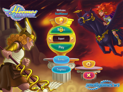Hermes 2: War of the Gods Collector's Edition