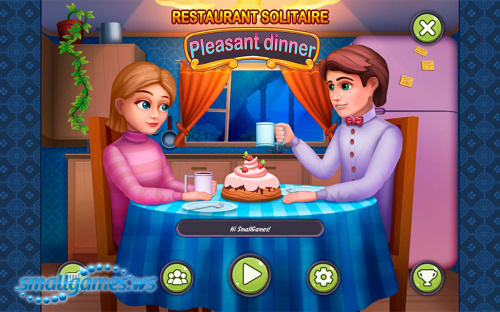 Restaurant Solitaire: Pleasant Dinner (eng, рус)