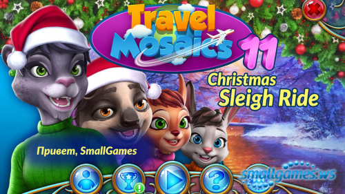 Travel Mosaics 11: Christmas Sleigh Ride (multi, рус)