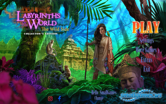 Labyrinths of the World 11: The Wild Side Collector's Edition