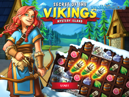 Secret of the Vikings: Mystery Island