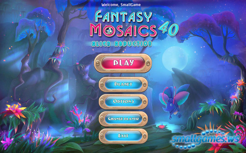 Fantasy Mosaics 40: Alien Abduction