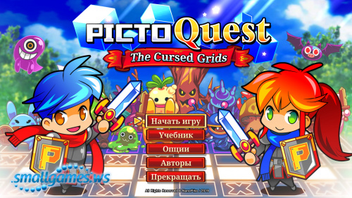 PictoQuest: The Cursed Grids