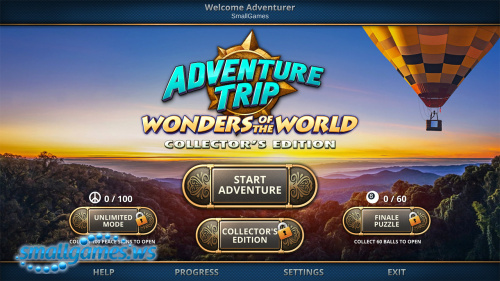 Adventure Trip 2: Wonders of the World Collector's Edition