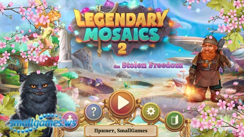 Legendary Mosaics 2: The Stolen Freedom (multi, рус)
