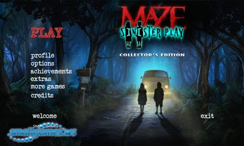 Maze 5: Sinister Play Collector's Edition