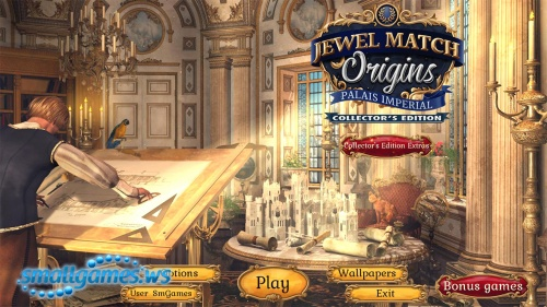 Jewel Match: Origins. Palais Imperial Collector's Edition
