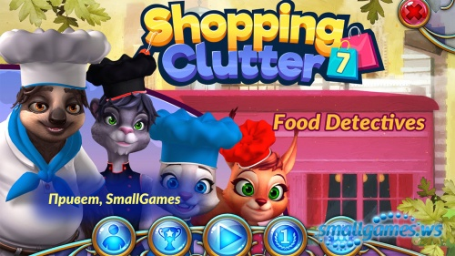 Shopping Clutter 7: Food Detectives (multi, рус)